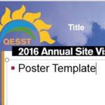 2016 Poster Template Screenshot