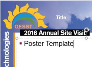 2016 Poster Template Screenshot