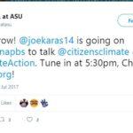 QESST Graduate Student Joe Karas on PBS, Twitter Announcement
